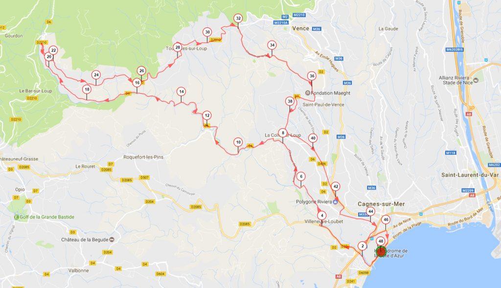 parcours-velo-triathlon-cagnes-sur-mer